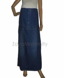 R017 depan rok hamil jeans  large