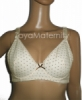UB154 cream depan bra menyusui  medium