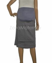 large R016 abu depan rok hamil