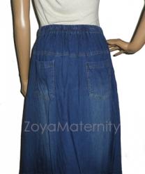 large R017 belakang2 rok hamil jeans